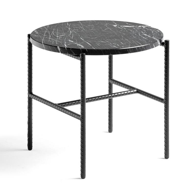 Ypperlig Rebar Sidebord, Marmor, Ø45 H40,5 - Sideborde - Heile Møbler LF-29